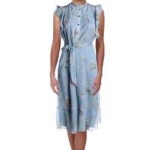 Ralph Lauren Janevra Womens Chiffon  dress size 4